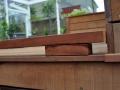 houten terras details